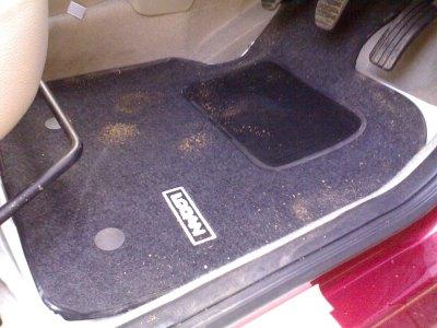 Mahindra Renault Logan Floor mat